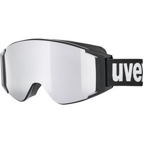 UVEX g.gl 3000 TOP Occhiali Maschera, nero/argento